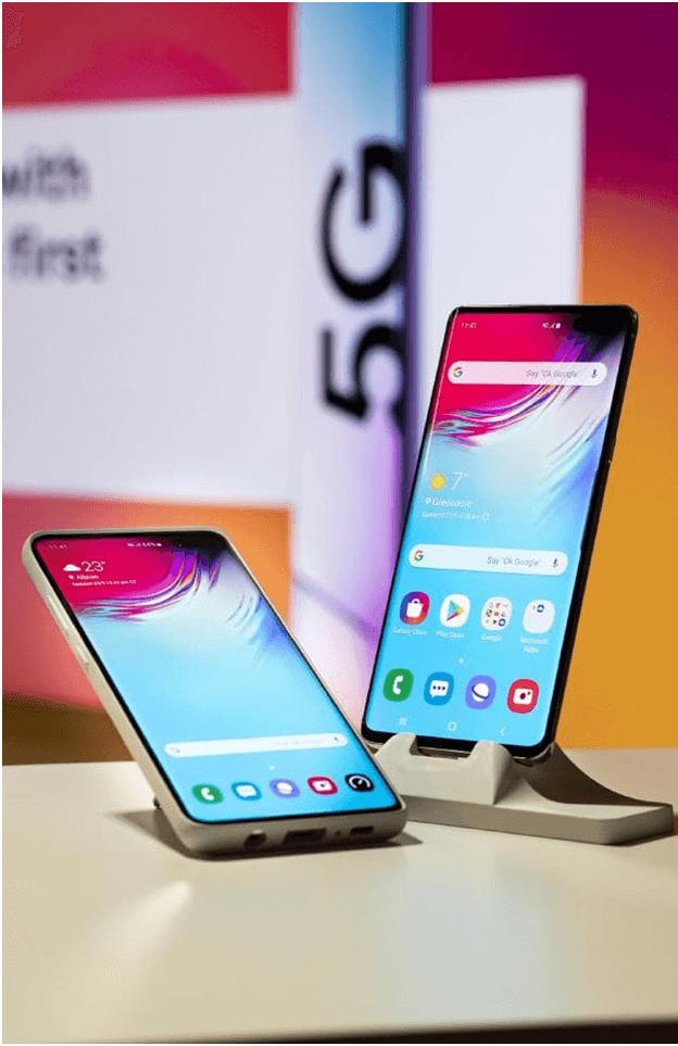5 G phone Samsung Galaxy S10