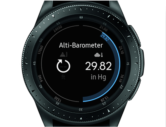 Alti Barometer app
