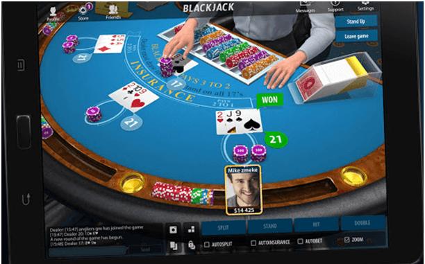 Blackjack21 app