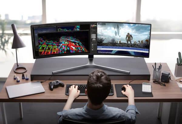 CHG90 QLED Gaming Monitor