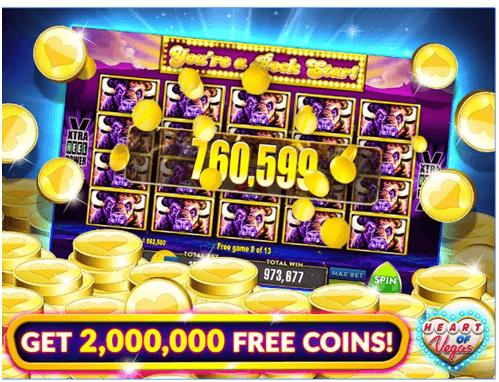 Heart of Vegas Slots Casino App