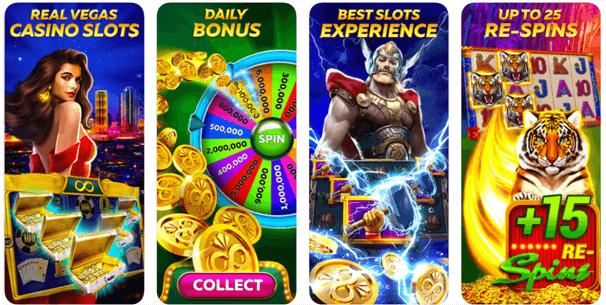 Infinity slots apps