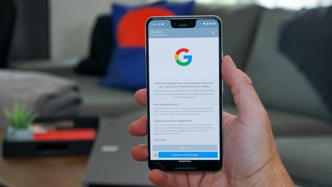 Log into Google and enjoy the benefits
