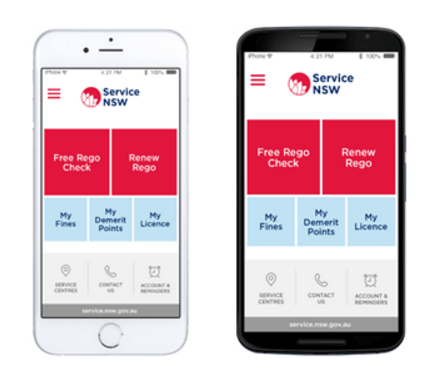 Service NSW App