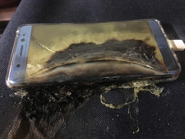 exploding batteries