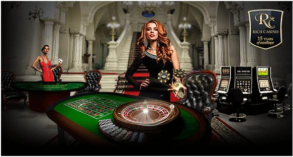Rich casino live dealer