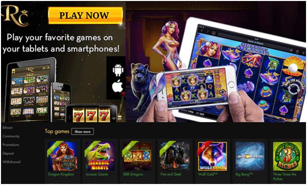 Rich Casino samsung app