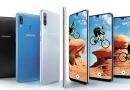 Samsung A series of phone