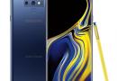 Samsung Galaxy Note 9 plans