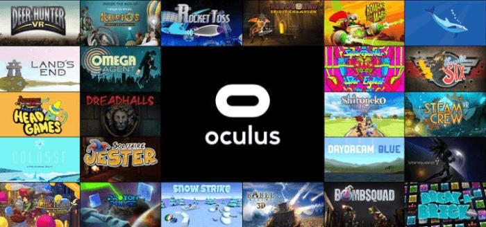 VR game apps