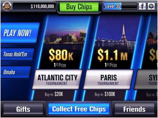 WSOP game app
