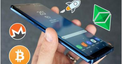 Samsung S10 Cryptowallet